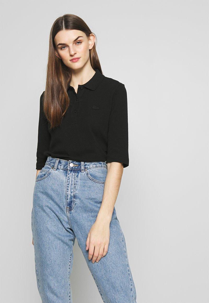 Lacoste - TEE CORE - Polo shirt - black