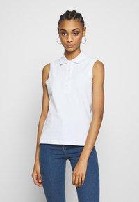 Lacoste - SLEEVELESS BASIC SLIM FIT - Polo shirt - white - 0