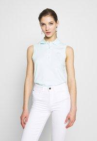 Lacoste - SLEEVELESS BASIC SLIM FIT - Polo shirt - igloo - 0