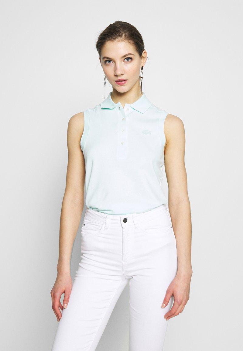 Lacoste - SLEEVELESS BASIC SLIM FIT - Polo shirt - igloo