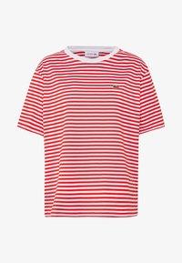 Lacoste - T-shirt imprimé - corrida/white - 3