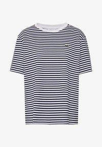 Lacoste - T-shirt imprimé - navy blue/white - 4