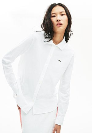 POLO LONG SLEEVE - Button-down blouse - white