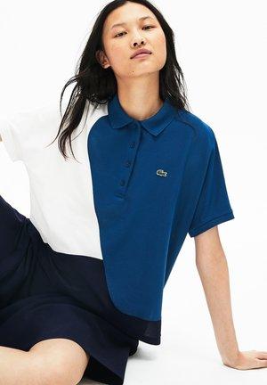 Polo - navy blue/blue/white