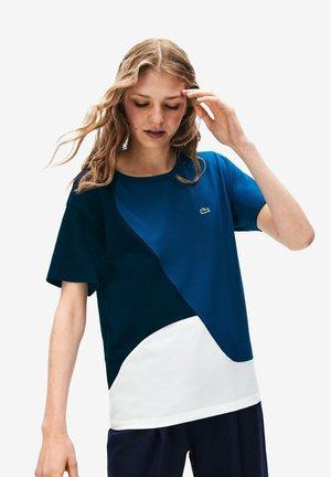 TF9130 - T-Shirt print - white/blue/navy blue