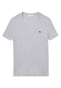 Lacoste - T-shirt basique - gris chine - 0