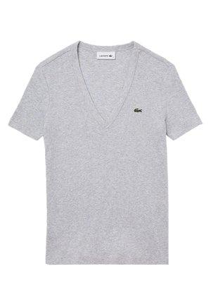 T-shirt basique - gris chine