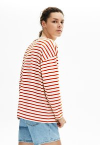 Lacoste - T-shirt à manches longues - white/red - 2