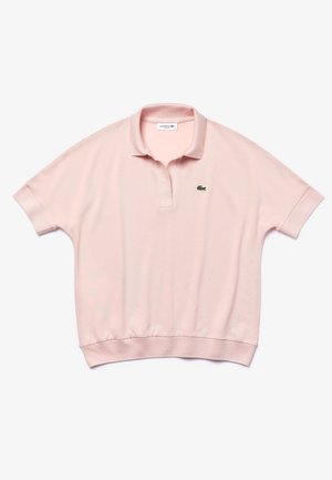 LACOSTE - POLO MANCHES COURTES FEMME-PF0504 - Polo - rose pale