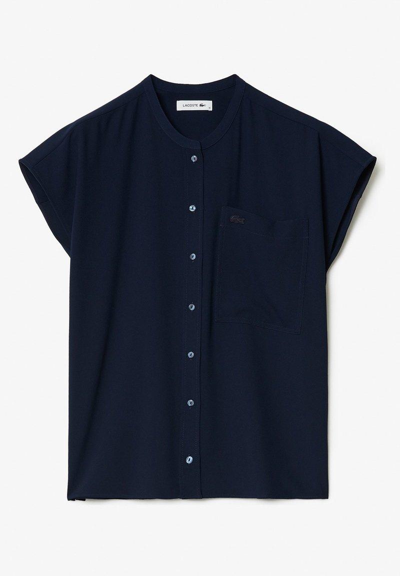 Lacoste - Chemisier - bleu marine