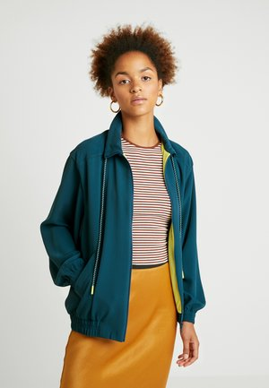 Summer jacket - dark green
