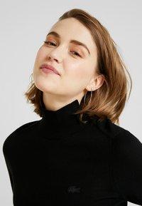 Lacoste - Stickad tröja - black - 4