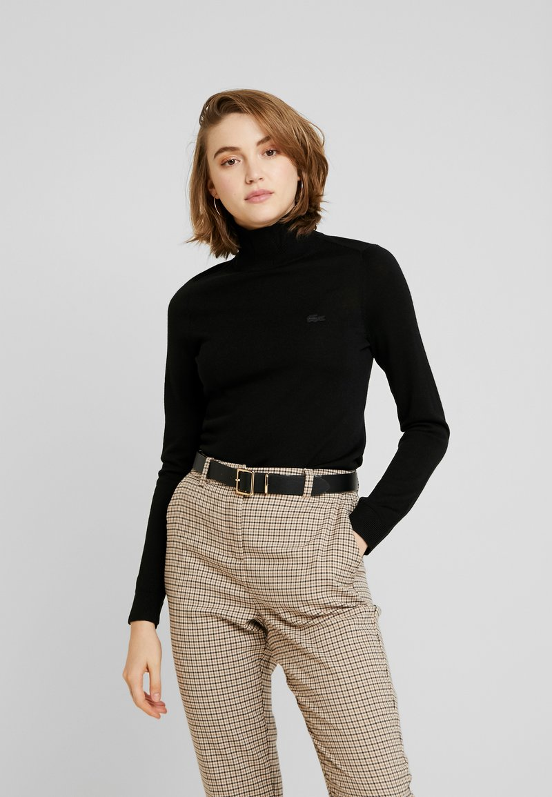 Lacoste - Stickad tröja - black