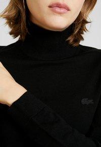 Lacoste - Stickad tröja - black - 3