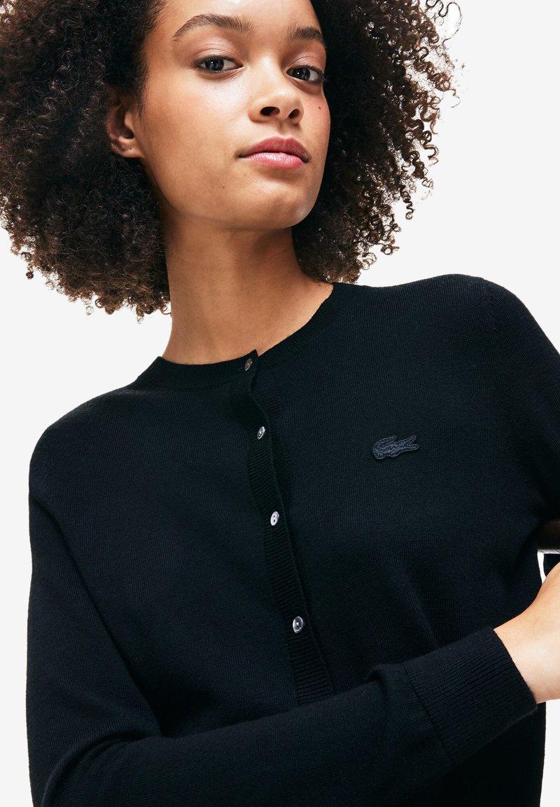 Lacoste - AF8705 - Cardigan - black