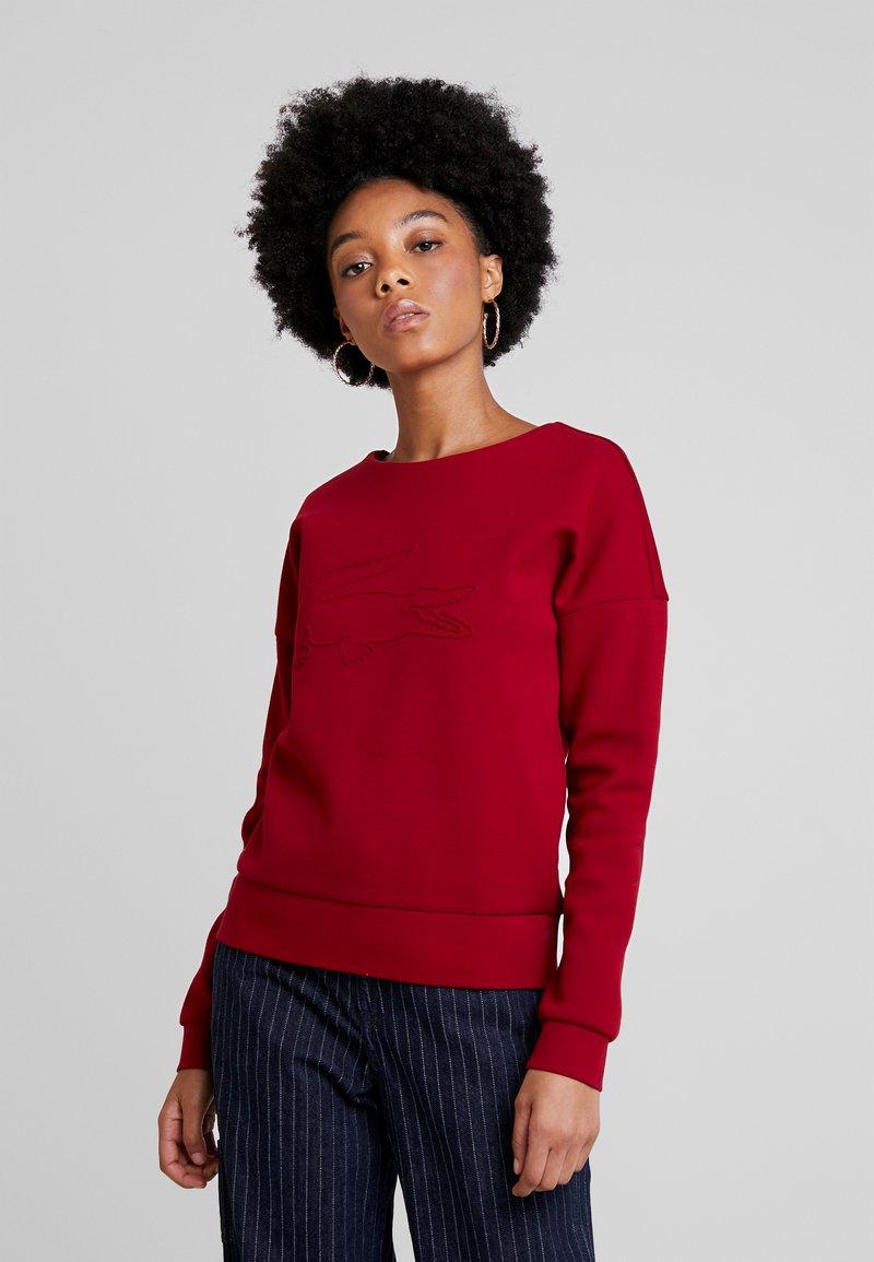Lacoste - Sweatshirt - bordeaux