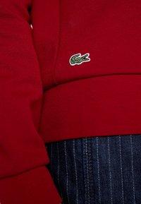 Lacoste - Sweatshirt - bordeaux - 5
