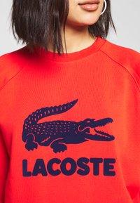 Lacoste - Sweater - corrida/navy blue - 4