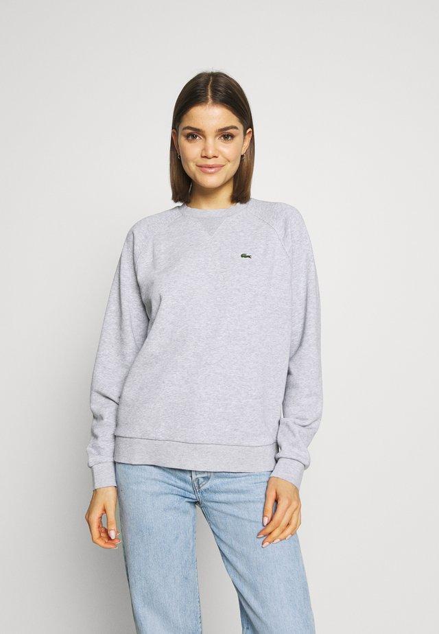 Sweatshirt - silver chine/green