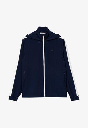 veste en sweat zippée - navy blue/white