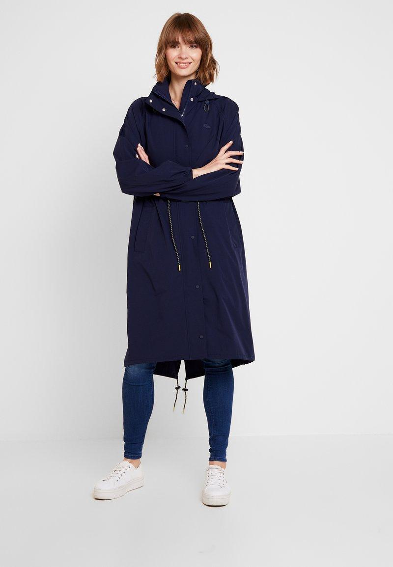 Lacoste - Parka - navy blue