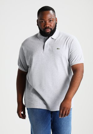 CLASSIC FIT - Polo shirt - argent chine