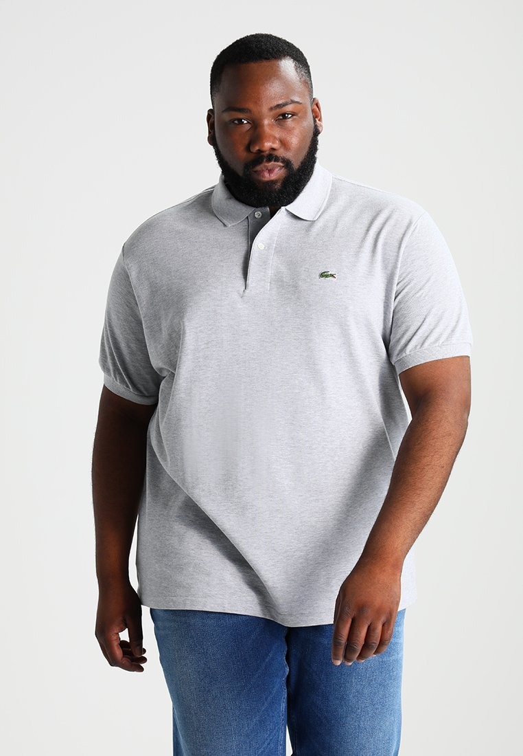 Lacoste - CLASSIC FIT - Polo shirt - argent chine