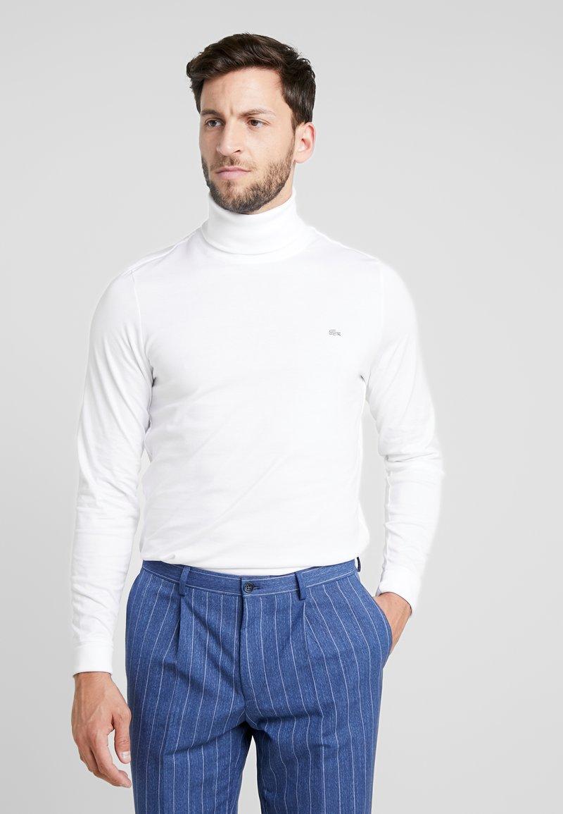 Lacoste - LONGSLEEVE - Langærmede T-shirts - white