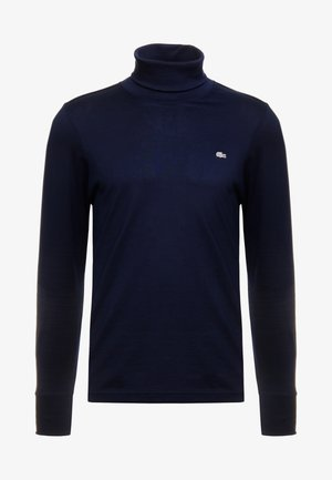 LONGSLEEVE - Long sleeved top - navy blue