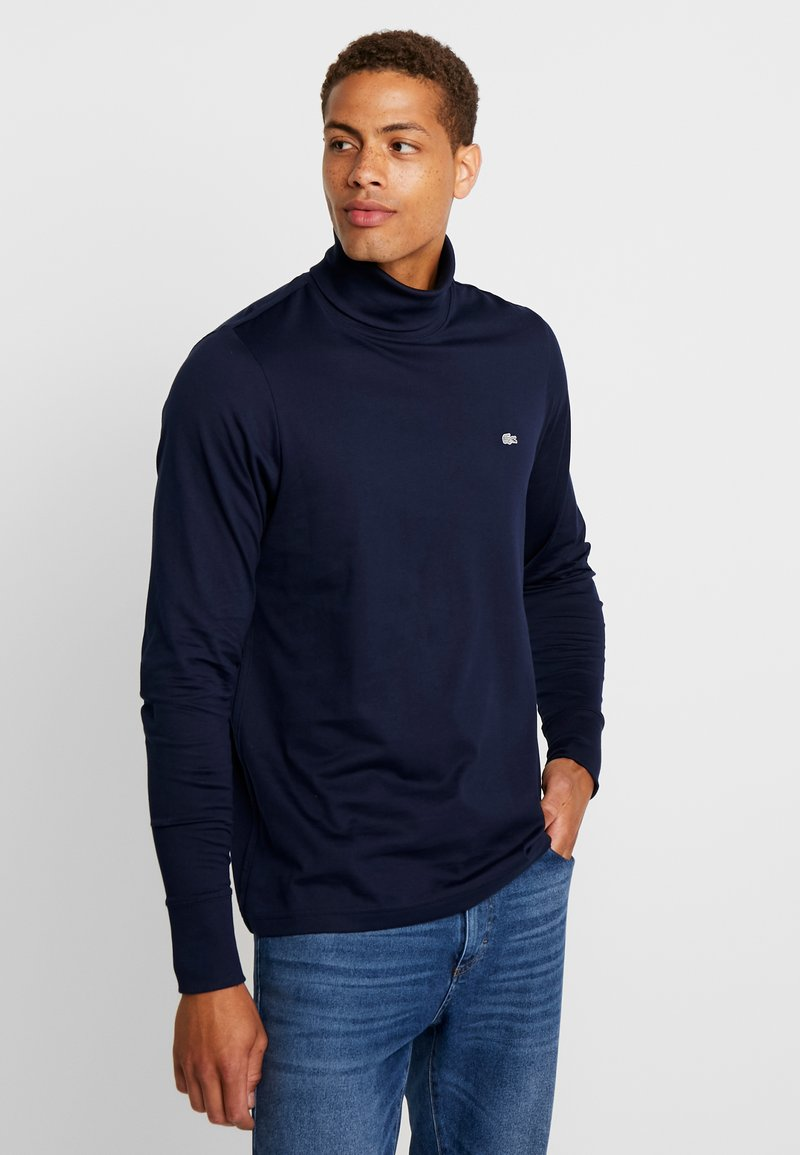 Lacoste - LONGSLEEVE - Long sleeved top - navy blue