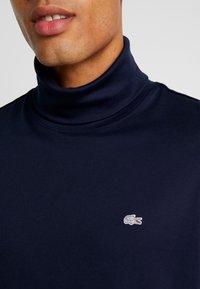 Lacoste - LONGSLEEVE - Long sleeved top - navy blue - 5