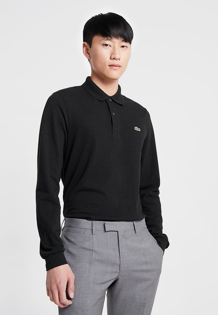 Lacoste - CLASSIC FIT - Polo shirt - black
