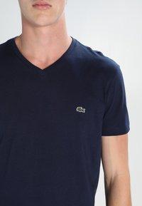 Lacoste - T-shirt basic - navy blue - 3