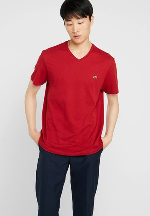 T-shirt basic - alizarine