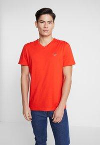 Lacoste - T-shirt basique - corrida - 3