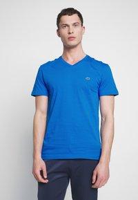 Lacoste - T-shirt basic - blue - 0