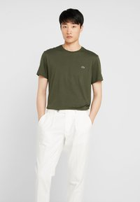 Lacoste - T-shirt basic - baobab - 0