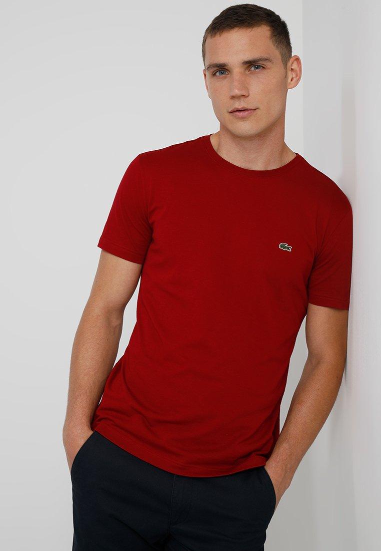 Lacoste - T-shirt basic - bordeaux