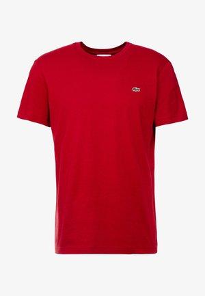 T-Shirt basic - alizarine
