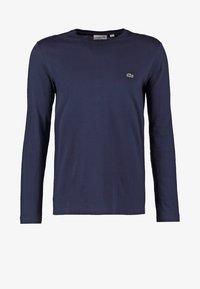 Lacoste - Top sdlouhým rukávem - navy blue - 5