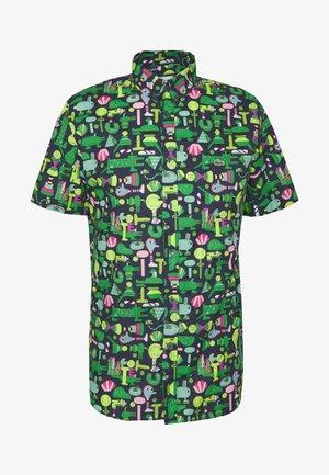 Unisex Lacoste x Jeremyville Regular Fit Cotton Shirt - Koszula - marine/multico