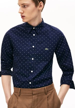 CH6904  - Shirt - bleu marine / blanc