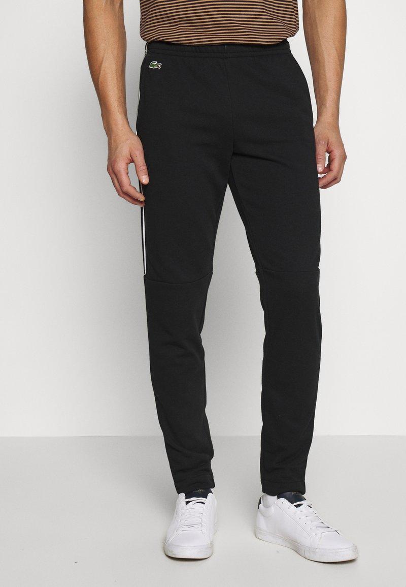 Lacoste - Pantalon de survêtement - black/white