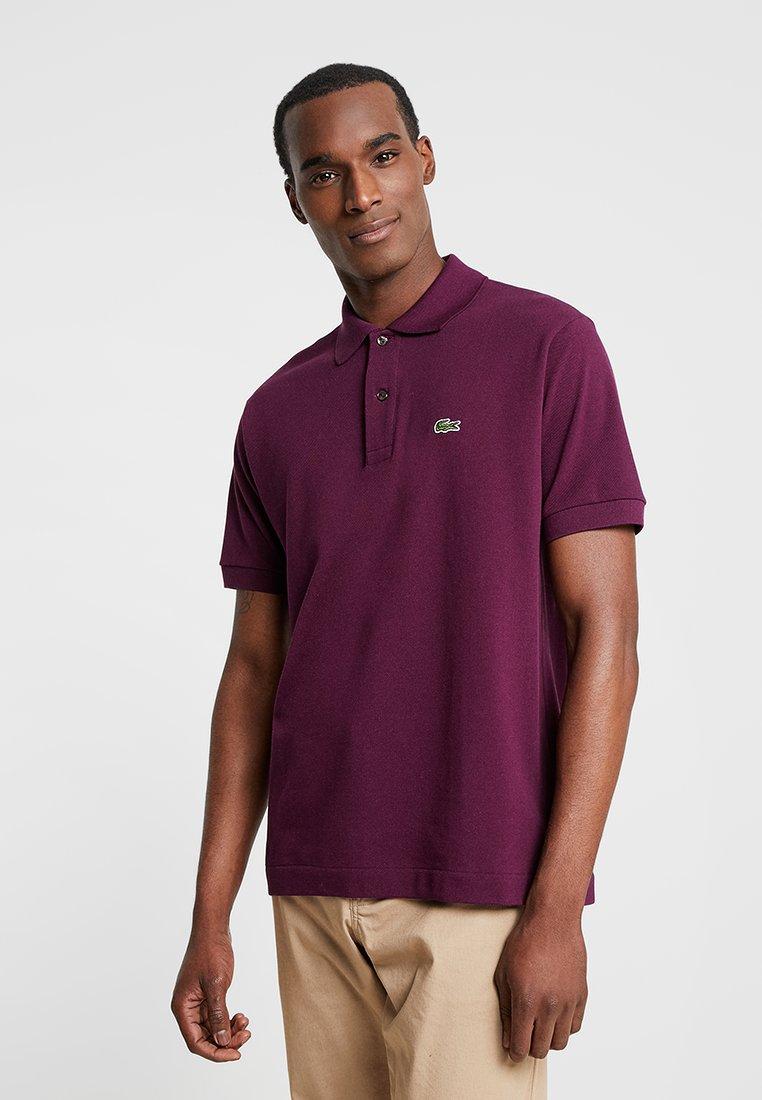 Lacoste - CROCODIL - Polo shirt - aubergine