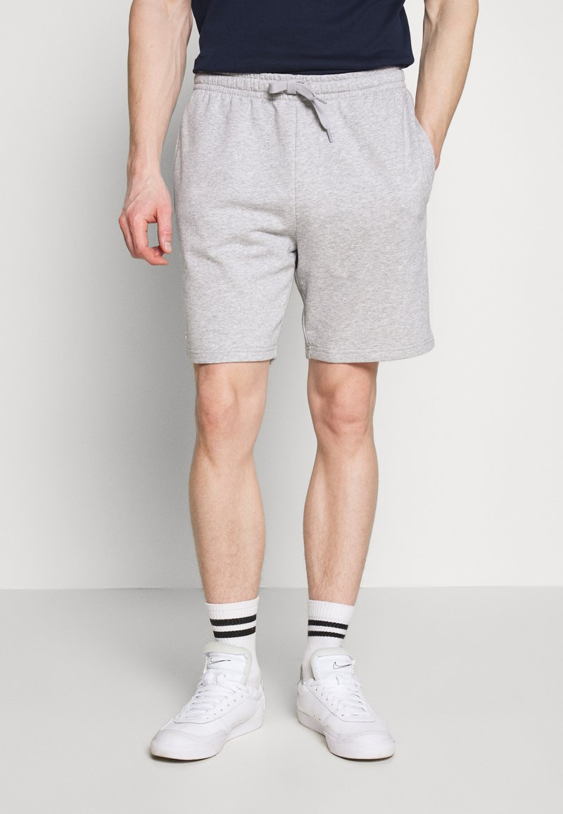 Lacoste - Shorts - silver chine