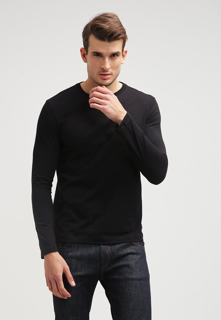 Lacoste - Long sleeved top - black