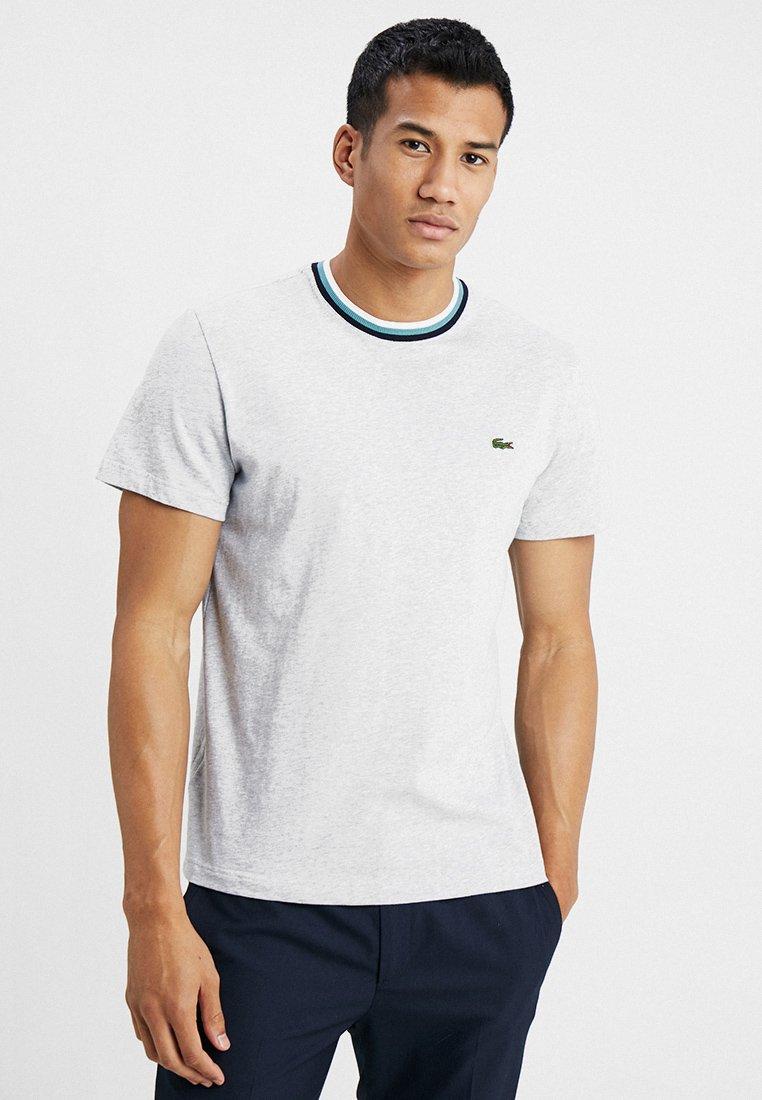 Lacoste - T-shirt basique - silver chine