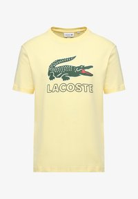 Lacoste - T-shirt med print - napolitan yellow - 3