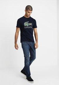 Lacoste - T-shirt print - navy blue - 1