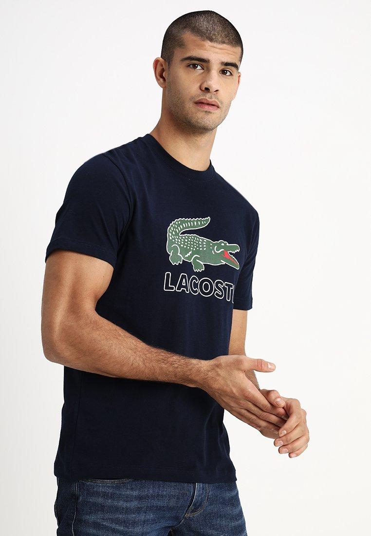 Lacoste - Camiseta estampada - navy blue